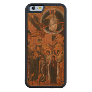 Christ Ascending into Heaven Carved® Cherry iPhone 6 Bumper Case