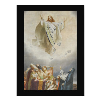 Christ Ascends to Heaven by Garofalo Card