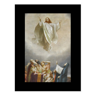 Christ Ascends to Heaven by Garofalo Postcard