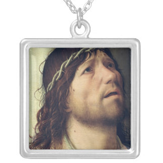 Christ at the Column, c.1475 Silver Plated Necklace