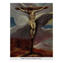 Christ At the Cross  by EugeneGreco Print