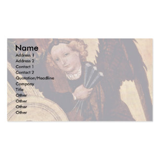 Christ At The Last Court Of  By Norddeutscher Business Card Templates