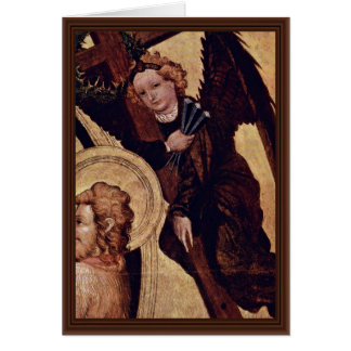 Christ At The Last Court Of  By Norddeutscher Cards