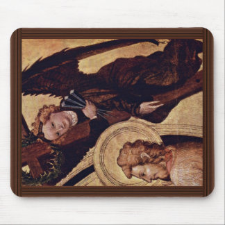 Christ At The Last Court Of  By Norddeutscher Mouse Pads