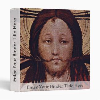 Christ At The Last Judgment  By Norddeutscher Vinyl Binders