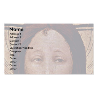 Christ At The Last Judgment  By Norddeutscher Business Card Templates