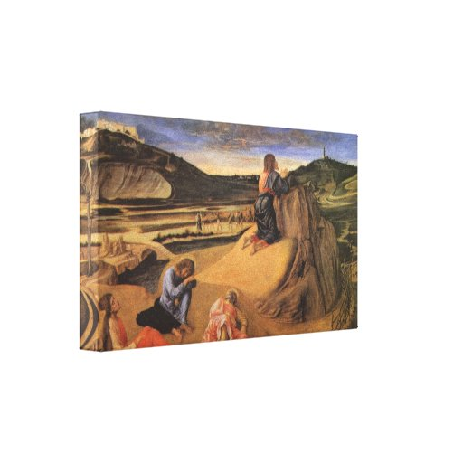 Christ At the Mount of Olives by Giovanni Bellini Canvas Prints