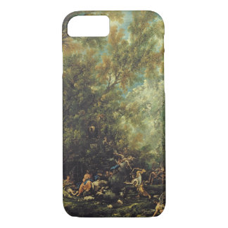 Christ Attended by the Angels, c.1725-30 (oil on c iPhone 7 Case