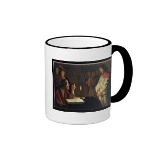 Christ Before Caiaphas (oil on canvas) Mugs