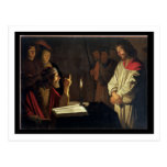 Christ Before Caiaphas (oil on canvas) Postcards