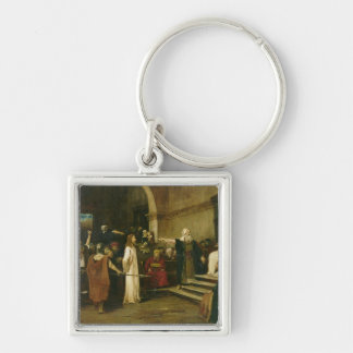 Christ Before Pilate, 1880 Keychain