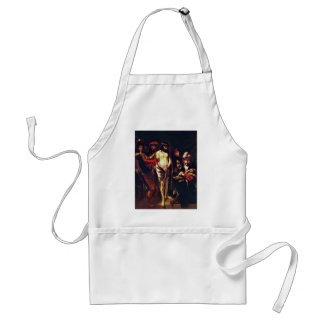 Christ Before Pilate By Maes Nicolaes Adult Apron