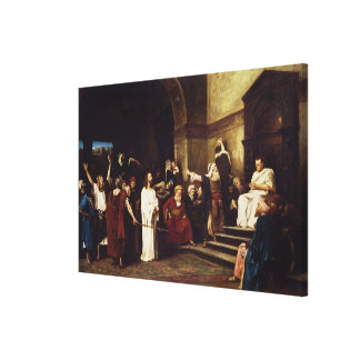 Christ Before Pilate Canvas Print