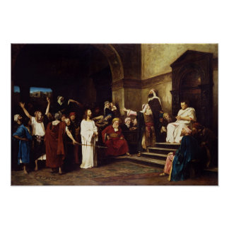 Christ Before Pilate Posters