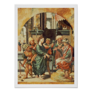 Christ Before Pilate Poster