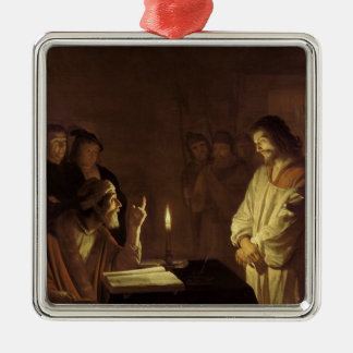 Christ before the High Priest, 1617 Metal Ornament