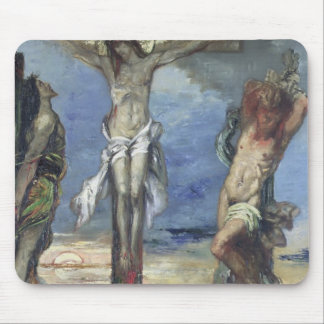 Christ between the Two Thieves, c.1870 Mouse Pad