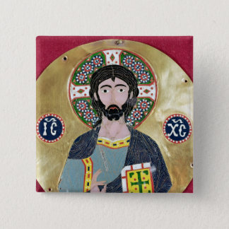 Christ Blessing, 10th-11th century Button
