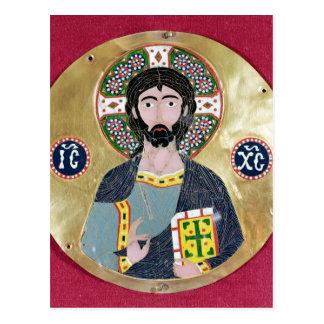 Christ Blessing, 10th-11th century Postcard