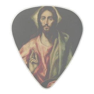 Christ Blessing 2 Acetal Guitar Pick