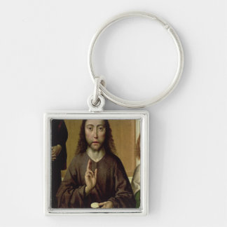 Christ Blessing 2 Key Chains