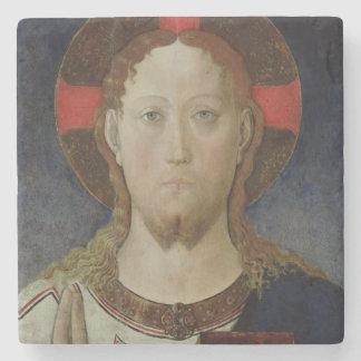 Christ Blessing 2 Stone Coaster