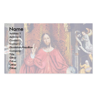 Christ Blessing By Gallego Fernando Double-Sided Standard Business Cards (Pack Of 100)