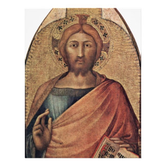 Christ Blessing By Martini Simone (Best Quality) Personalized Flyer