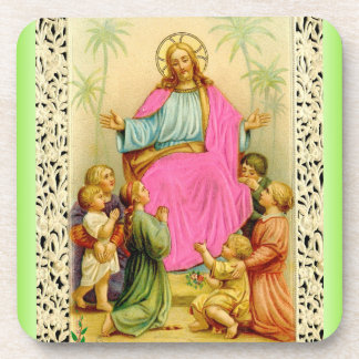 CHRIST BLESSING coaster