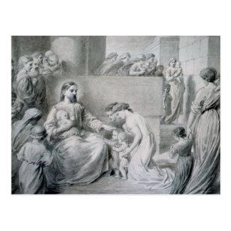 Christ Blessing Little Children Post Cards