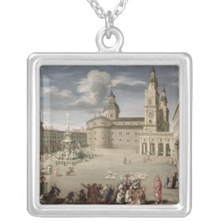 Christ blessing the people of Salzburg Necklace