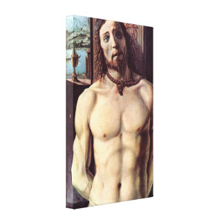 Christ Bound To the Column by Donato Bramante Stretched Canvas Print