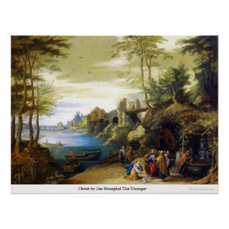 Christ by Jan Brueghel The Younger Print