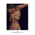 Christ By Mathis Grunewald Gothart Postcard