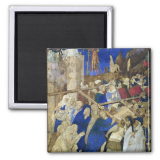 Christ Carrying Cross,Grandes Heures Magnet