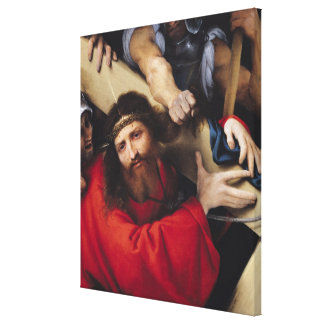 Christ Carrying the Cross, 1526 Canvas Print