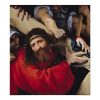 Christ Carrying the Cross, 1526 Poster