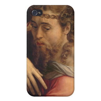 Christ Carrying the Cross, 1540-45 (oil on panel) Cases For iPhone 4