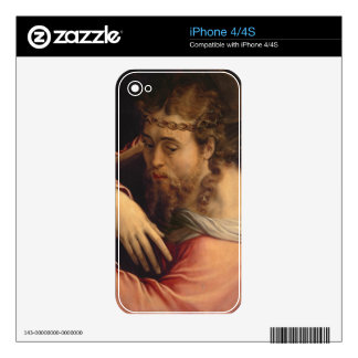 Christ Carrying the Cross, 1540-45 (oil on panel) Decal For iPhone 4