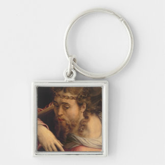 Christ Carrying the Cross, 1540-45 (oil on panel) Keychain
