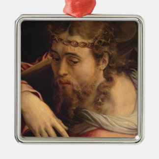 Christ Carrying the Cross, 1540-45 (oil on panel) Metal Ornament