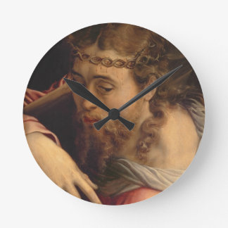 Christ Carrying the Cross, 1540-45 (oil on panel) Round Clock