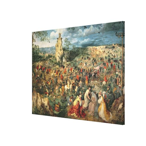 Christ carrying the Cross, 1564 Canvas Print