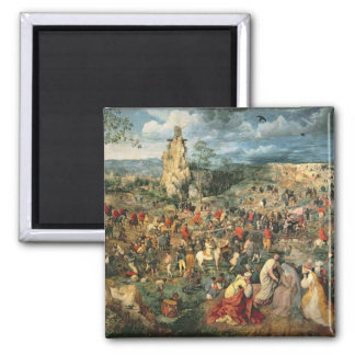 Christ carrying the Cross, 1564 Magnet