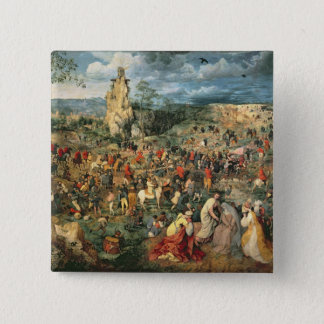 Christ carrying the Cross, 1564 Pinback Button