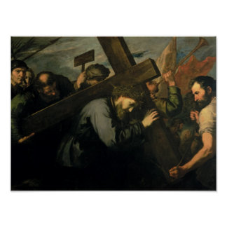 Christ Carrying the Cross, 1635 Poster