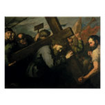Christ Carrying the Cross, 1635 Print