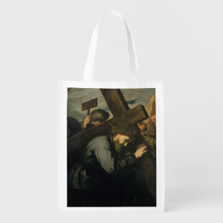 Christ Carrying the Cross, 1635 Reusable Grocery Bags