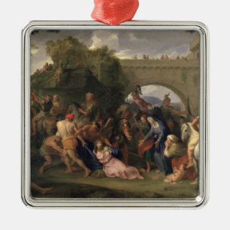 Christ Carrying the Cross, 1688 Metal Ornament