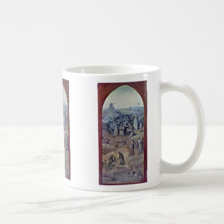 Christ Carrying The Cross [1]. By Hieronymus Bosch Classic White Coffee Mug